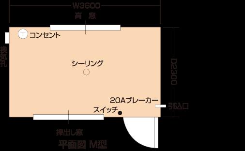 煌めき(平面図)