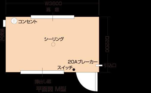 朝日(平面図)